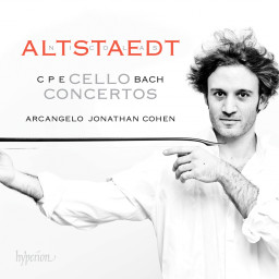 CPE Bach cello concerti, with Nicolas Altstaedt
