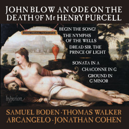 Forthcoming Recording: An Ode on the Death of Mr Henry Purcell & other works