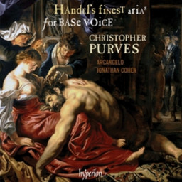 Handel's Finest Arias for Base Voice with Christopher Purves, Hyperion Records