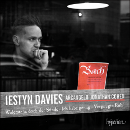 JS Bach cantatas, with Iestyn Davies