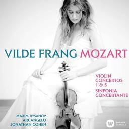 Mozart Violin concertos Nos 1 & 5 & Sinfonia Concertante, with Vilde Frang, Warner Classics